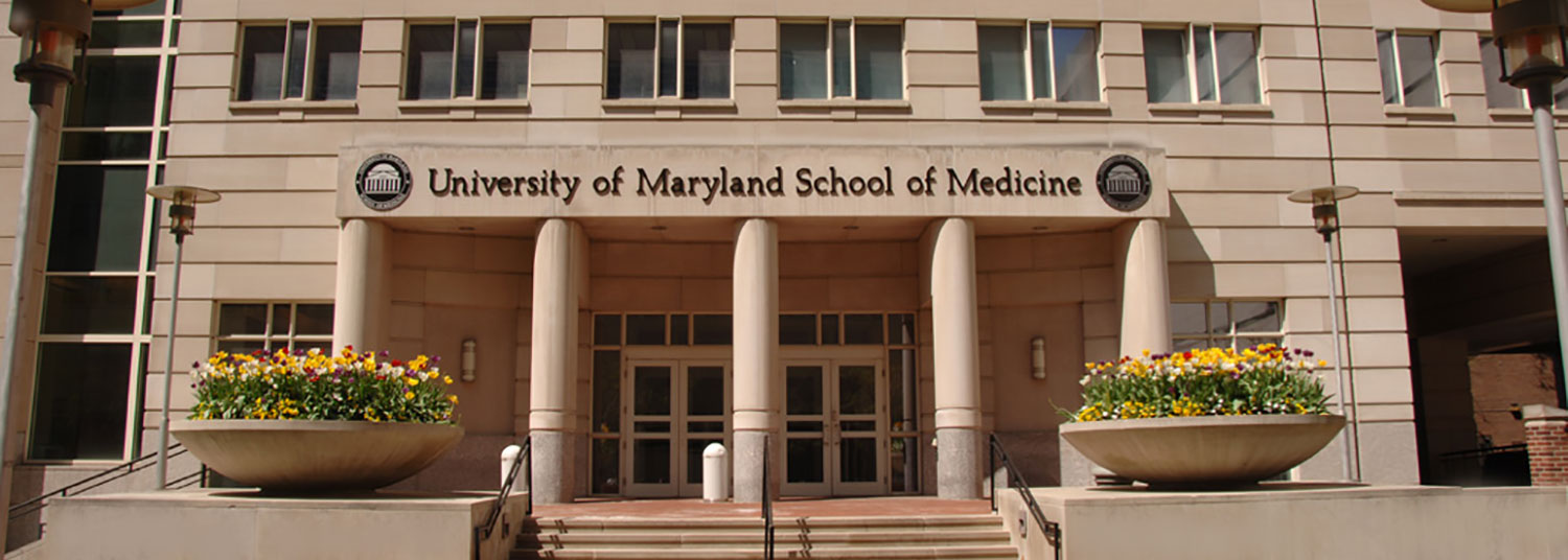 Entrance to UM School of Medicine's HSF II