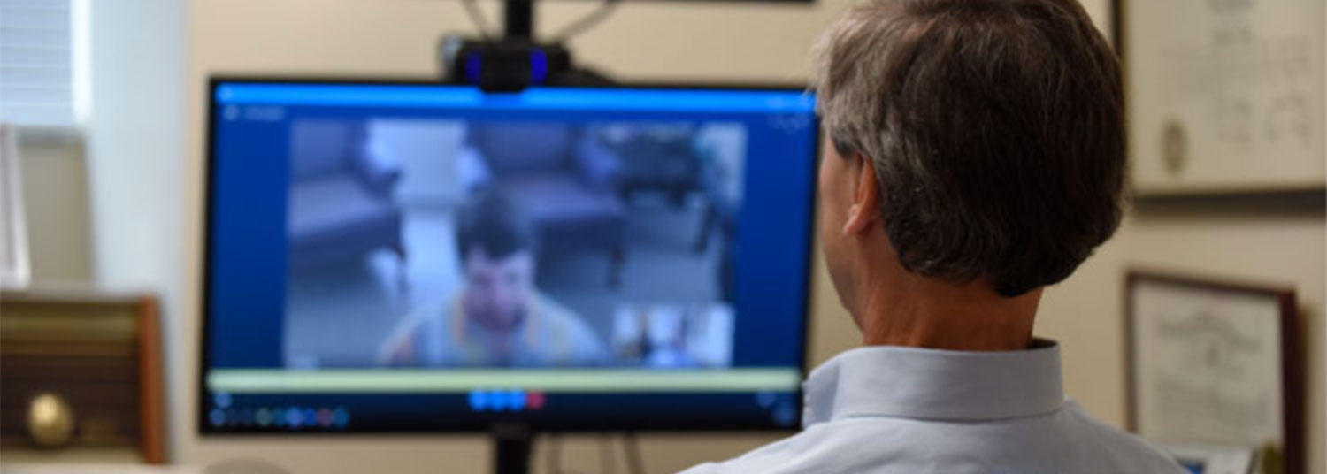 ESMCC Addictions Psychiatrist Eric Weintraub using telepsychiatry