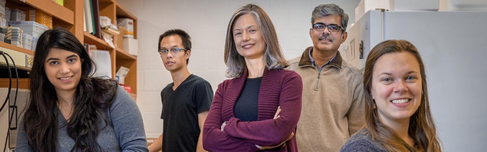 Members of Dr. Marta Lipinski's Lab