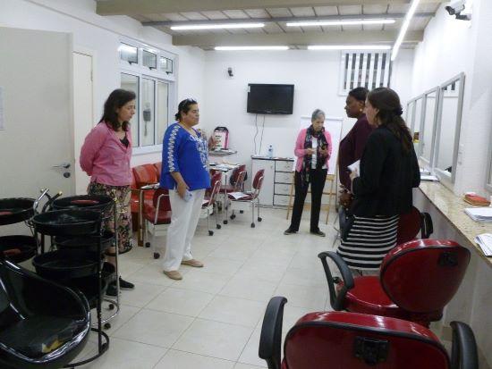 Nicole tours ASC Facility