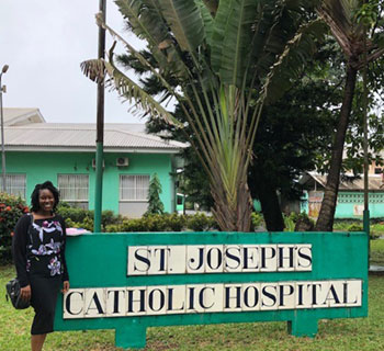 Deborah Olumuyiwa at St. Joseph Catholic Hospital
