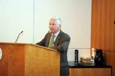Dr. Tony Lehman speaks at Primary Care Day.