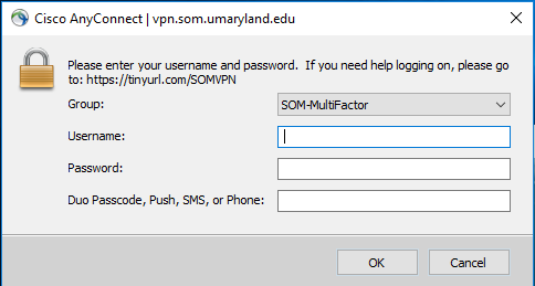 Remote Access - VPN Department of Medicine SOM VPN Information