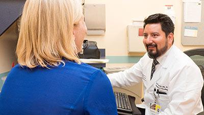 Encaphalitis Benavides with a Patient