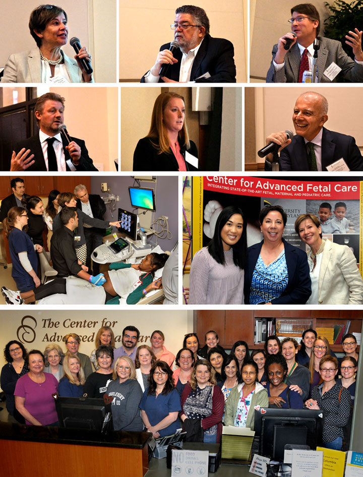 A collage of photos from the 2019 Symposium