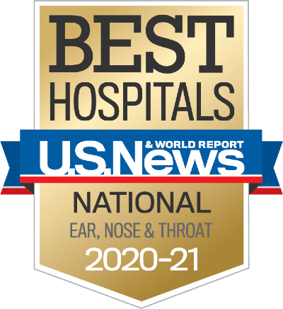 U.S. News & World Report ranks UMMC's ENT a National Best Hospital