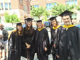 Group shot of 2015 graduates