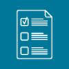 Icon of a Checklist