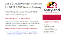 preview for document of the MDH Incentive for prescribers