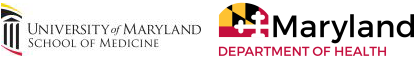 MDH logo and UMSOM logo