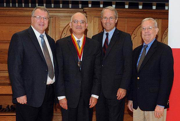Dr. Vincent P. Matthews, Dr. Elias R. Melhem, Dr. M. Sean Grady, and Dr. R. Nick Bryan