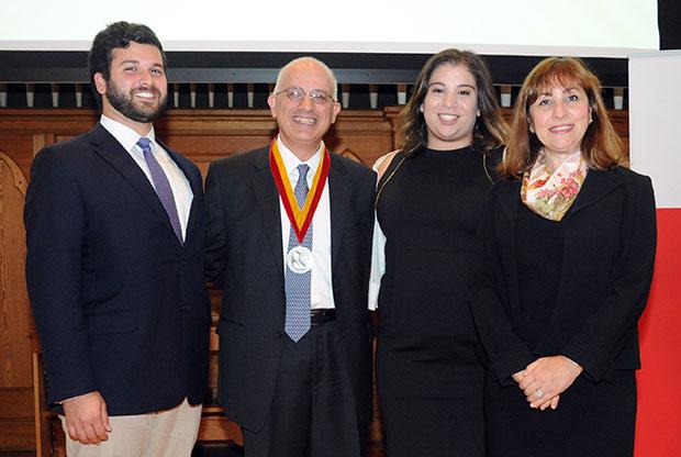 Dr. Melhem and Family