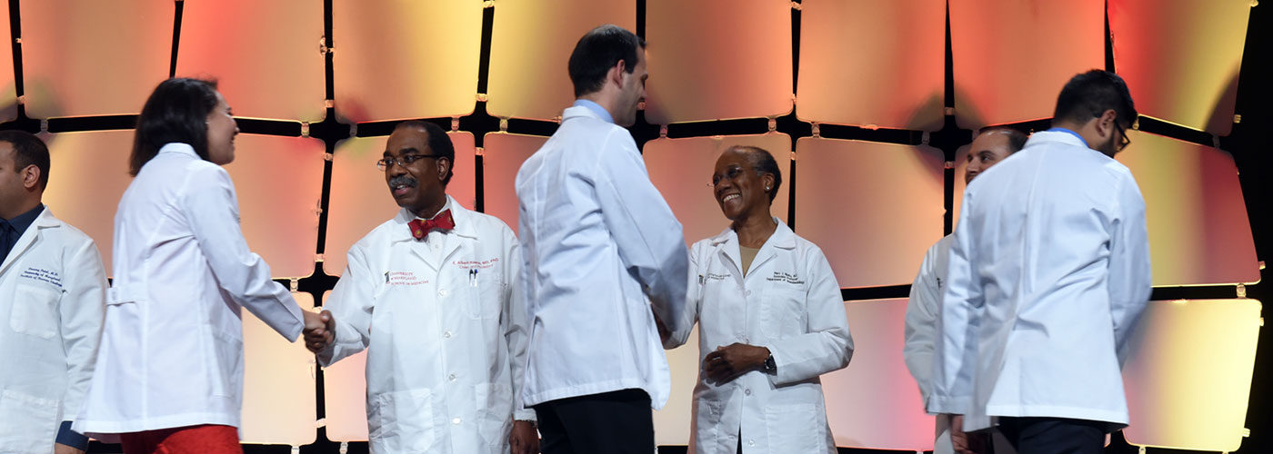 White Coat Ceremony - Hand Shaking - 2016