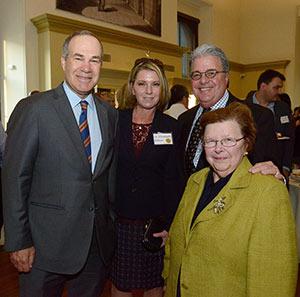 Left to right: Gary Attman, Dr. Elizabeth Zoltan, Robert L. Caret, and former Senator Barbara Mikulski