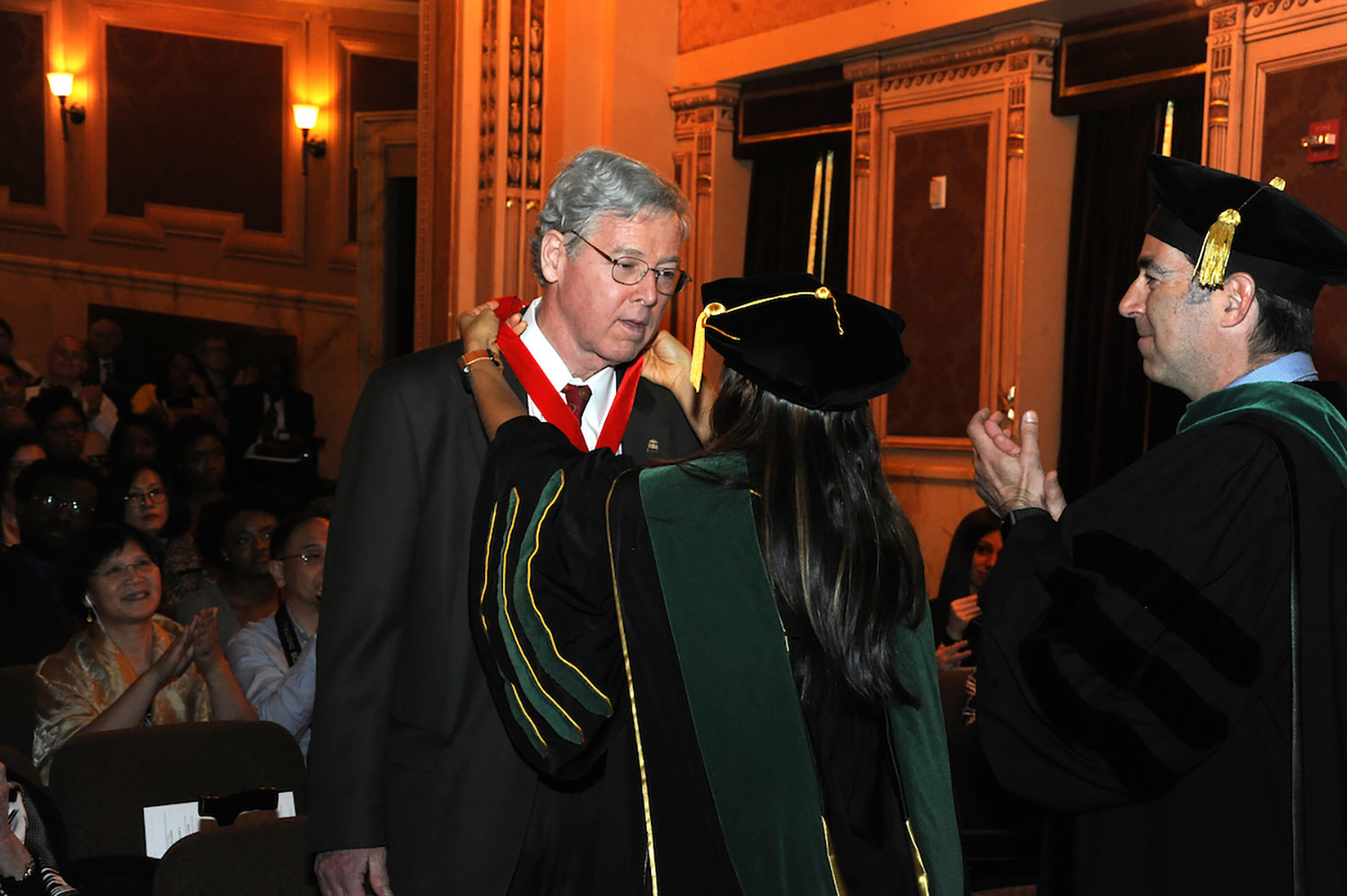 Dr. Foxwell Awarded Dean's Distinguished Gold Medal