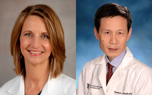 Rosemary Kozar, MD, PhD and Wei Chao, MD, PhD