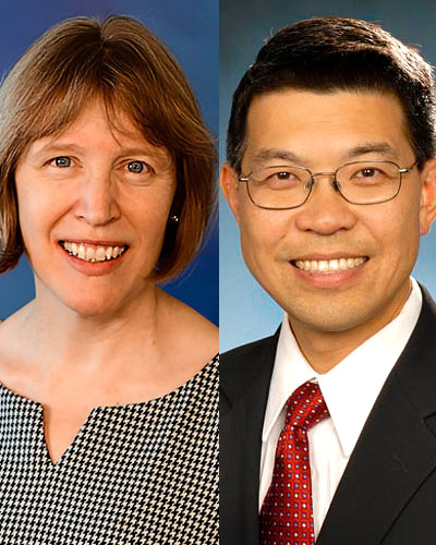 Mary-Claire Roghmann, MD, MPH & Bennie Jeng, MD