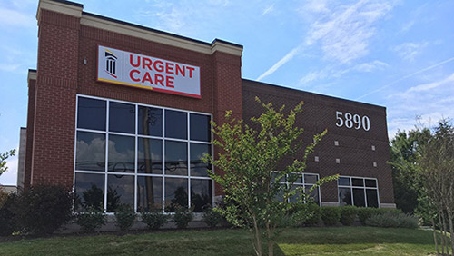 FPI Urgent Care, Primary, and Specialty Care Building at 5890 Waterloo Crossing