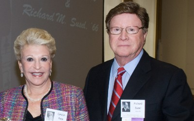 Dr. Carolyn Pass and Dr. Richard Susel