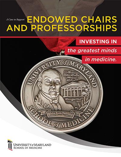 Cover of Endowed Professorships brochure