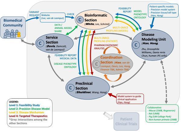 Bioinformatics Collaboration Chart