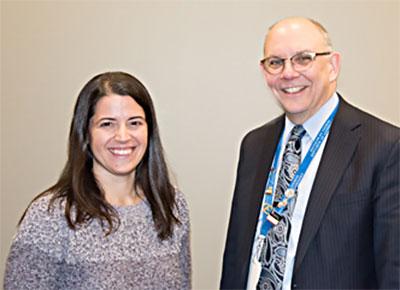 Leah Millstein and David Mallott, MD