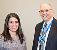 Leah Millstein, MD and David Mallott, MD
