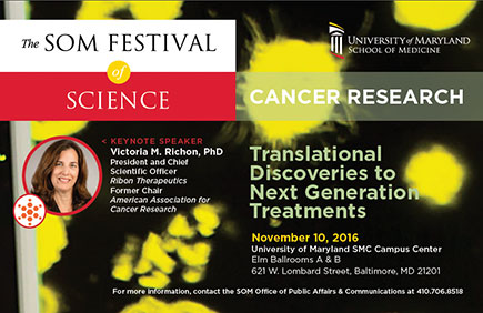 Poster of 2016 Festival of Science