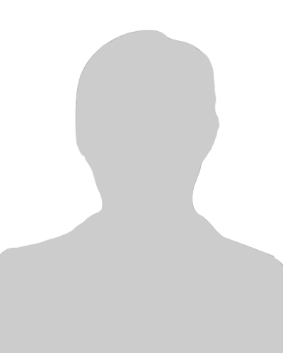 Male silhouette portrait