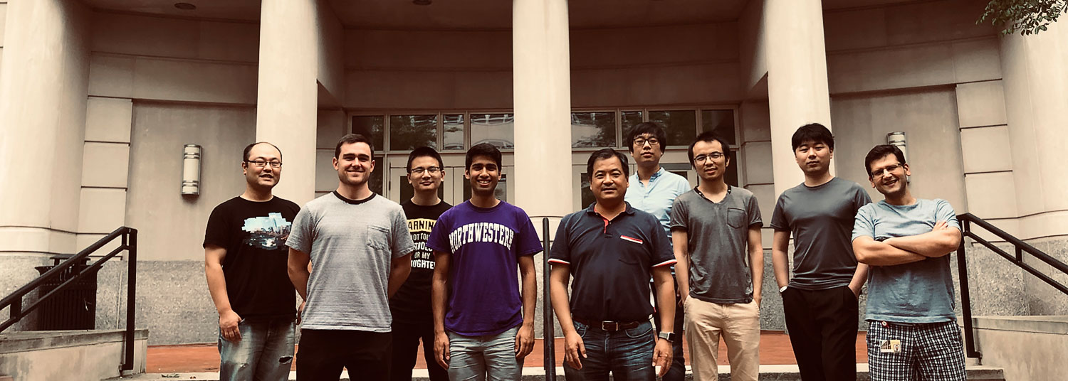 Group photo of 2019 Jia lab members